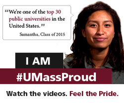Samantha is UMass Proud